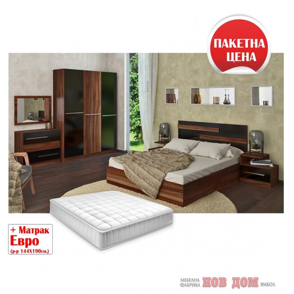 Спален комплект Афродита + матрак Евро