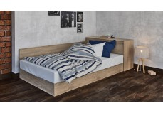 Bed with chest
