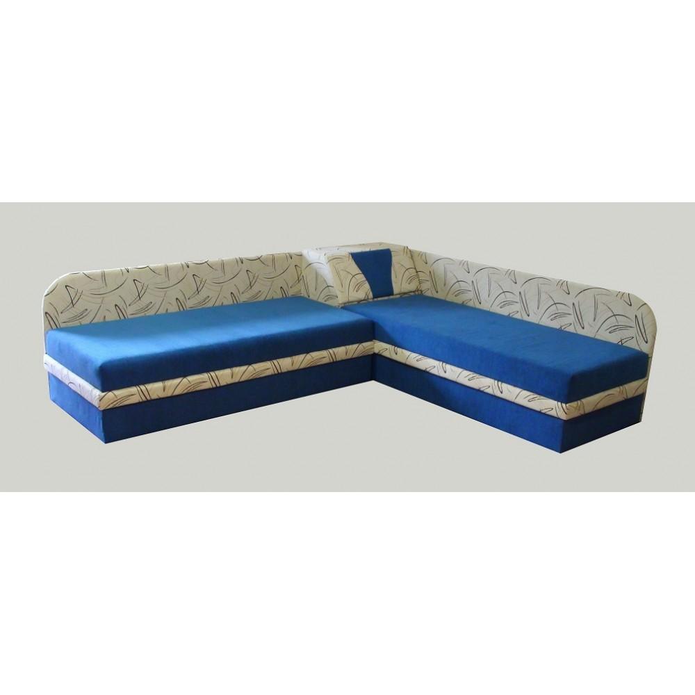 Тапицирани ъглови легла 2